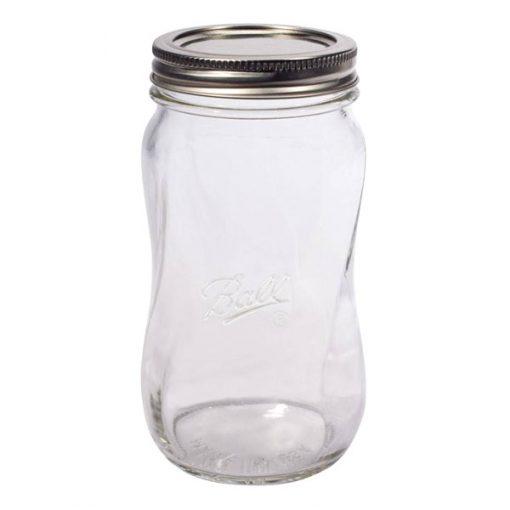 Ball® Elite Collection Spiral Jar 28oz