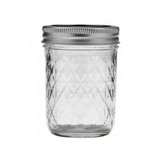 Ball® Quilted Crystal® Jelly Jar 8oz (240ml)