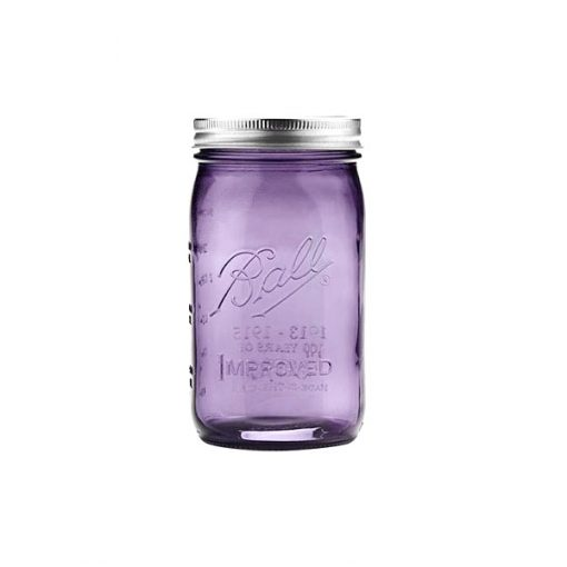 Ball® Heritage Wide Mouth 32oz Lilla