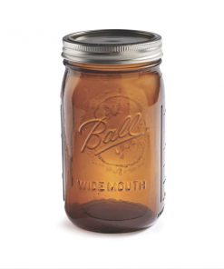 Ball® Wide Mouth Amber 32 oz
