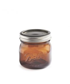 Ball® Wide Mouth Amber 16 oz