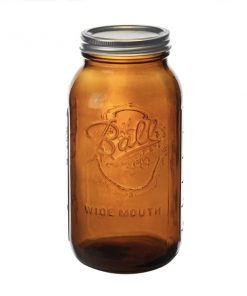 Ball® Wide Mouth Amber 64 oz